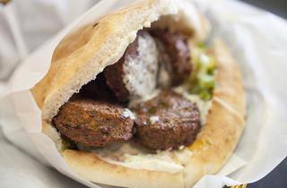Falafel at Ta-eem Grill
