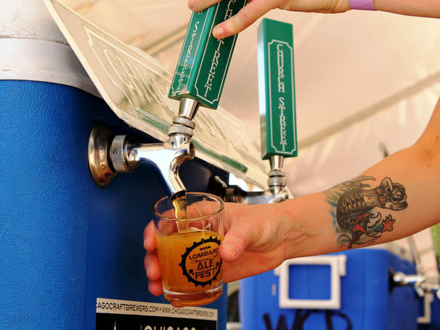Drink up at a beer festival