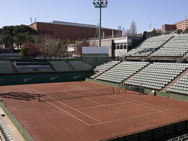 (Centre Esportiu Municipal de Tennis Vall Hebron)