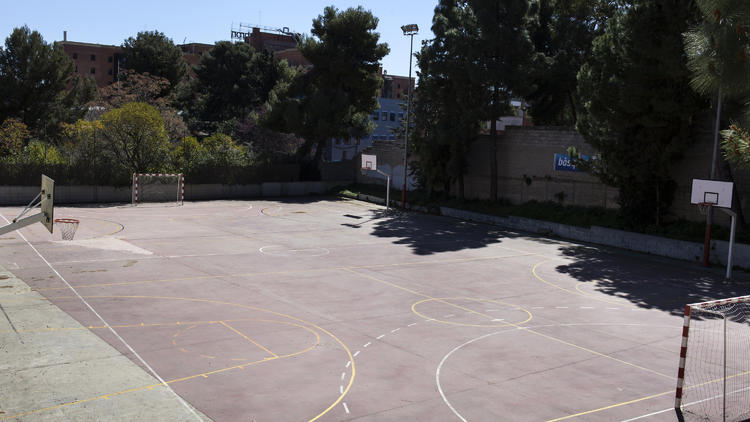 Pista Poliesportiva Municipal Montbau