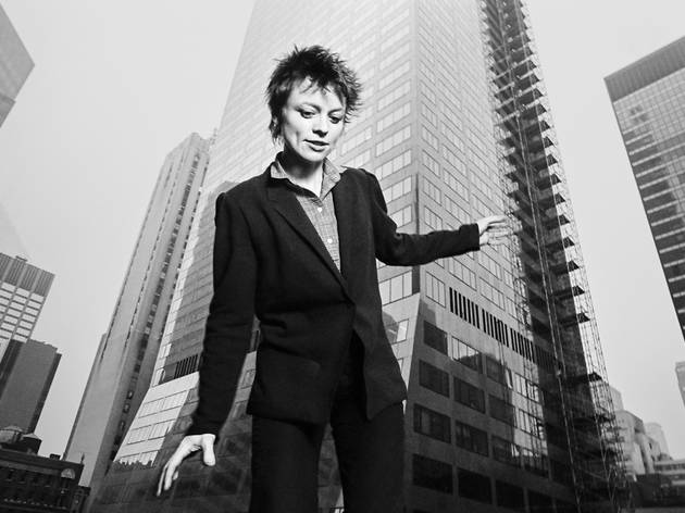 Laurie Anderson, 6th Avenue and 53rd, 1982