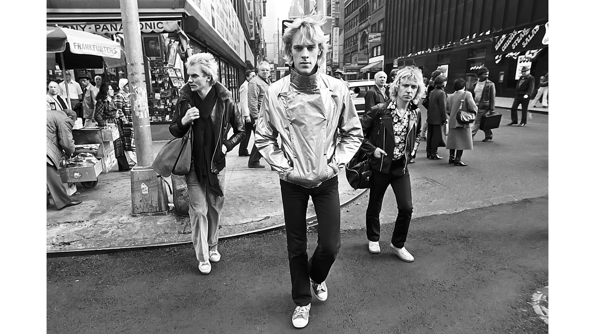 The Police, 8th Avenue and 37th, 1978