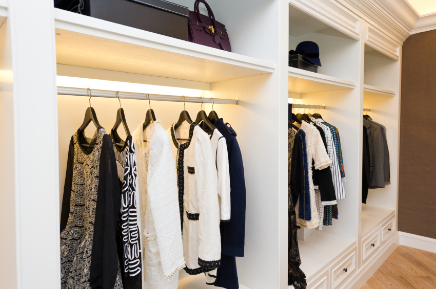 Hire a pro to empty (and fill) your closet