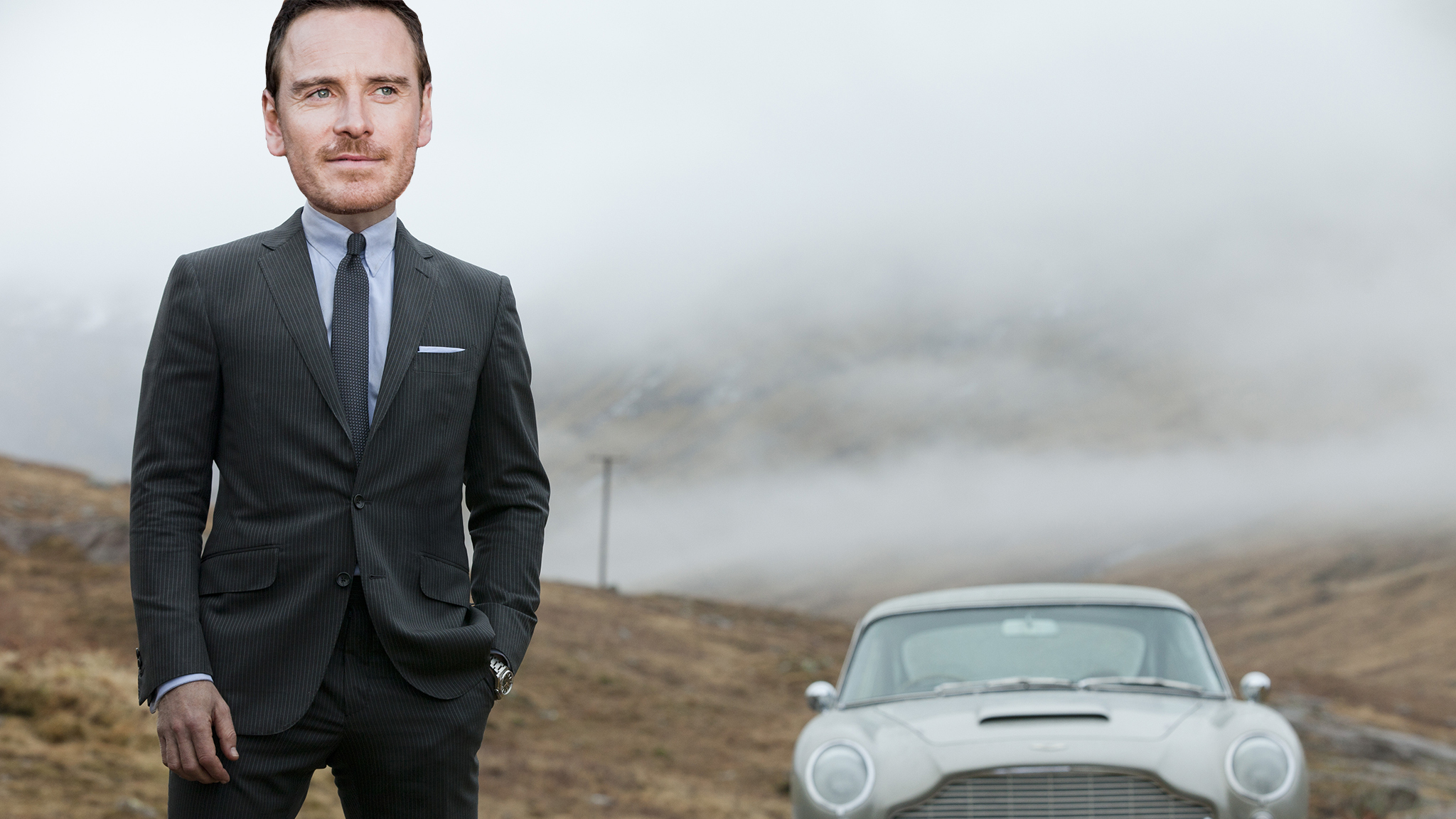 Michael Fassbender as James Bond