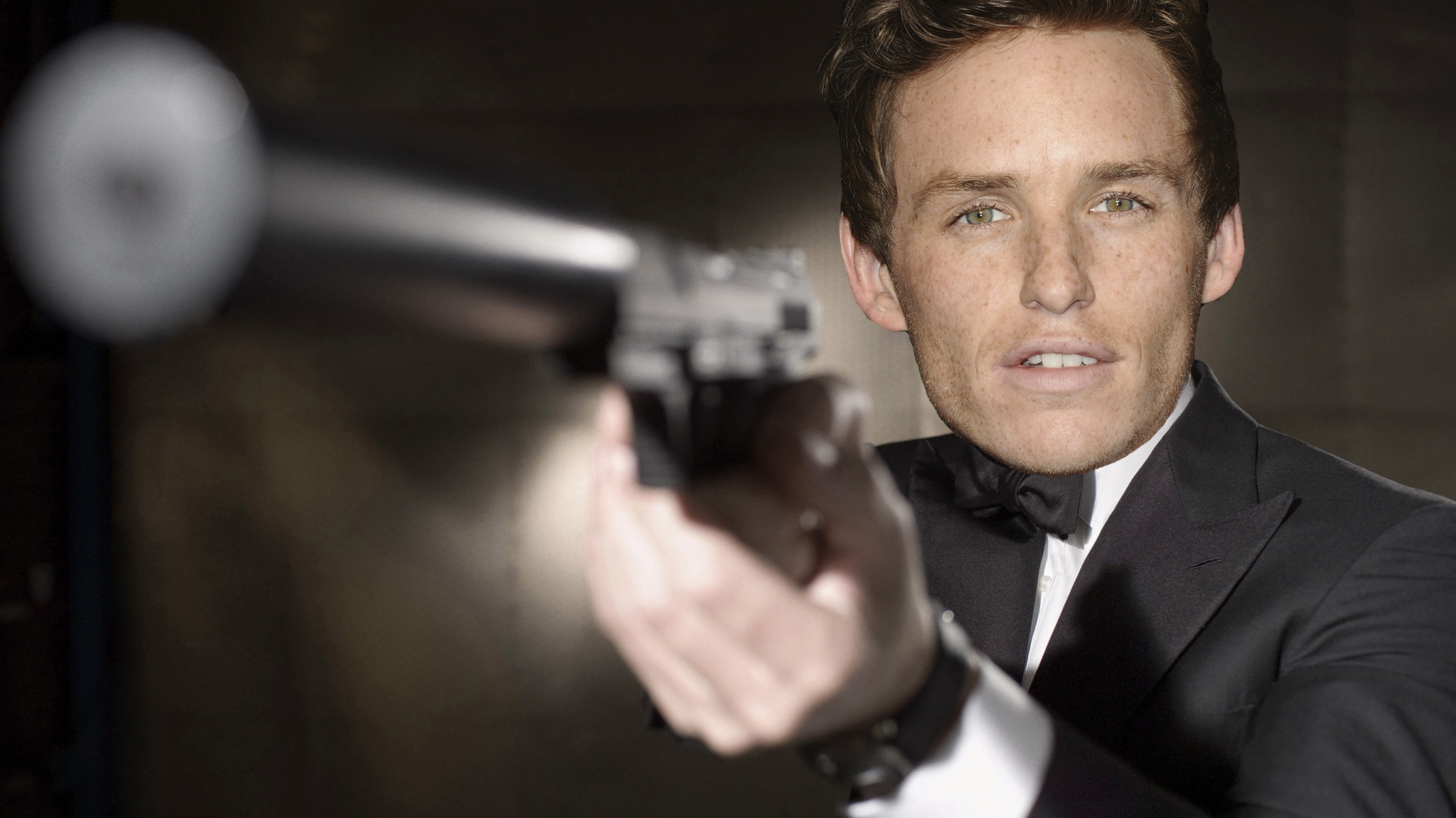 Eddie Redmayne as James Bond