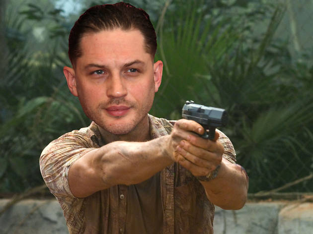 Tom Hardy as James Bond