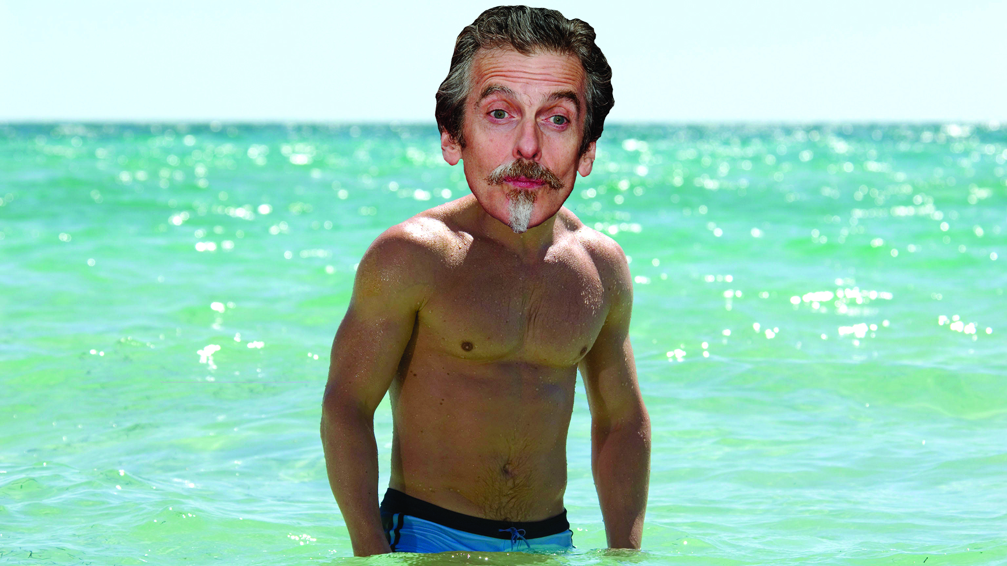 Peter Capaldi as James Bond