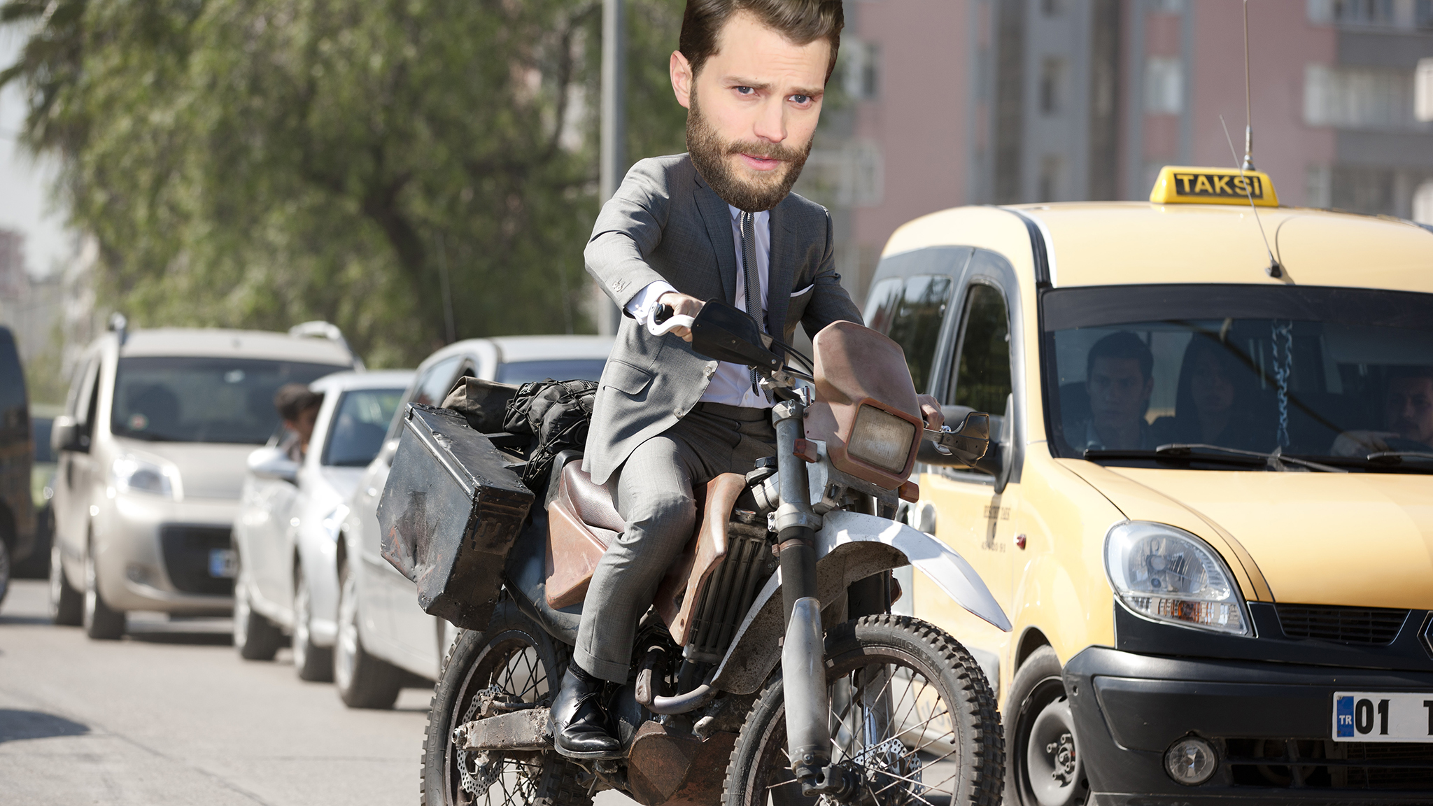 Jamie Dornan as James Bond