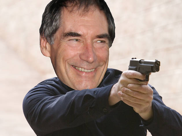 Timothy Dalton as James Bond