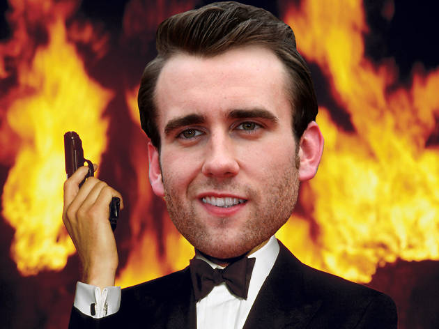 Matthew Lewis as James Bond