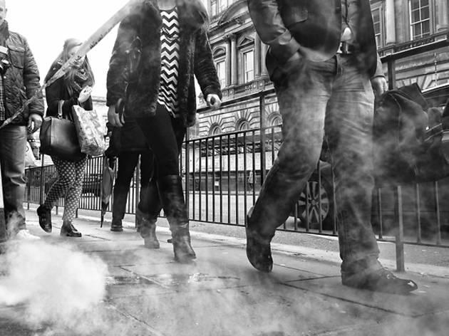 steam street legs pedestrians