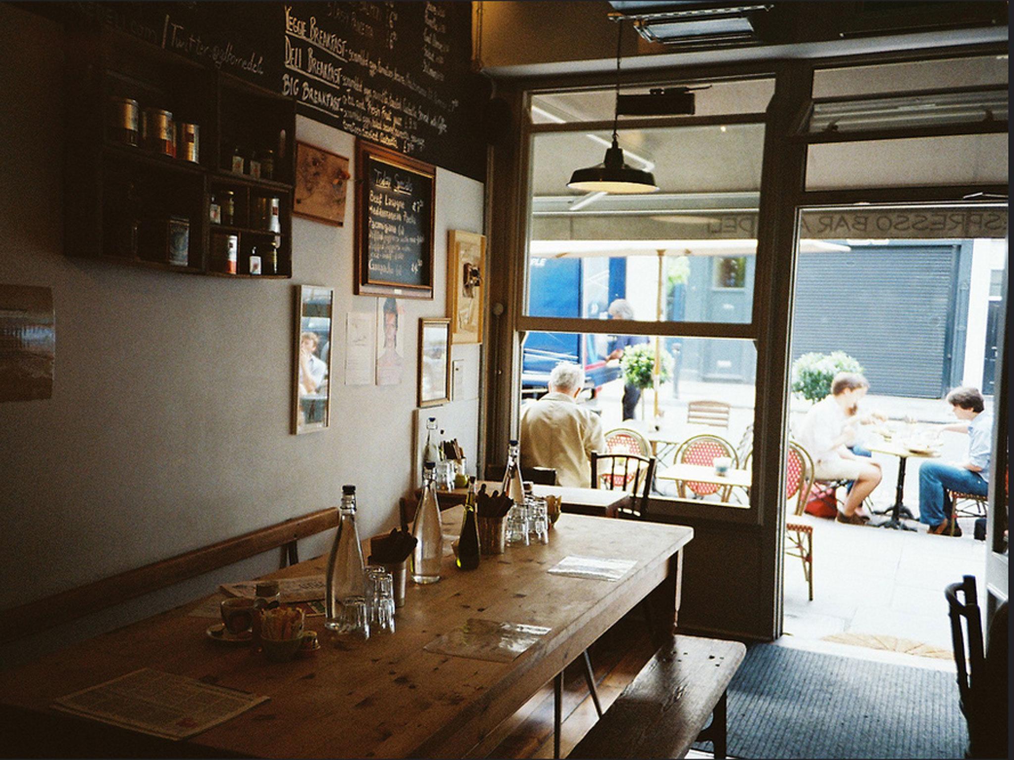 London coffee shop