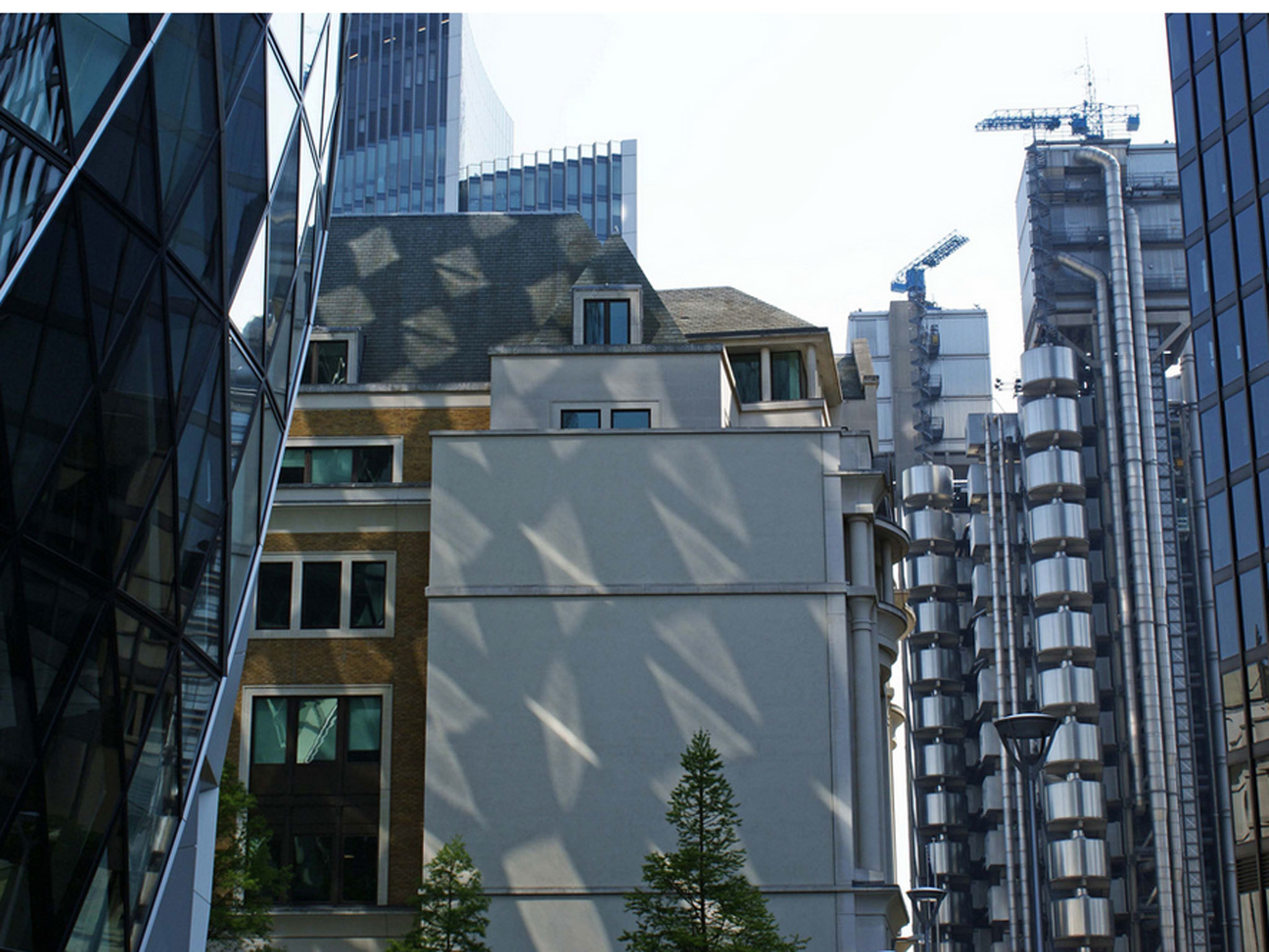 Reflections on the Gherkin, London