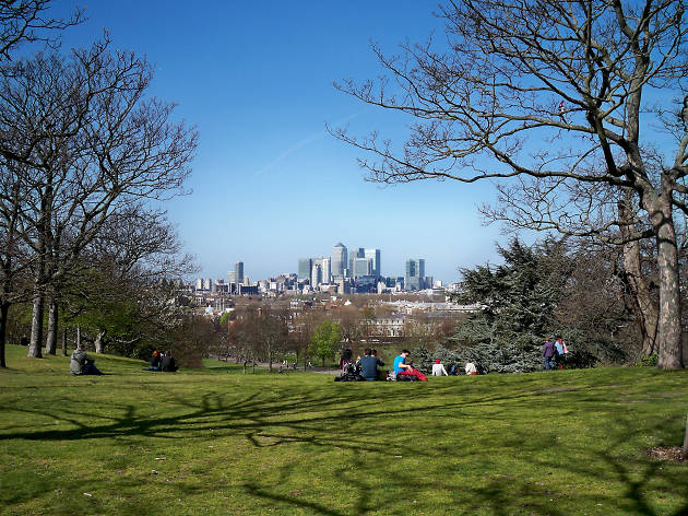 Picnic in Green Park