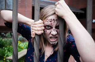 Daisy Bowie-Sell as a zombie in 'The Generation of Z: Apocalypse'