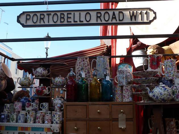 Notting Hill shops