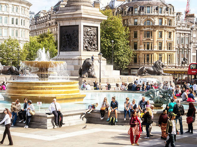 Best Hotels In The West End Trafalgar Square Sun