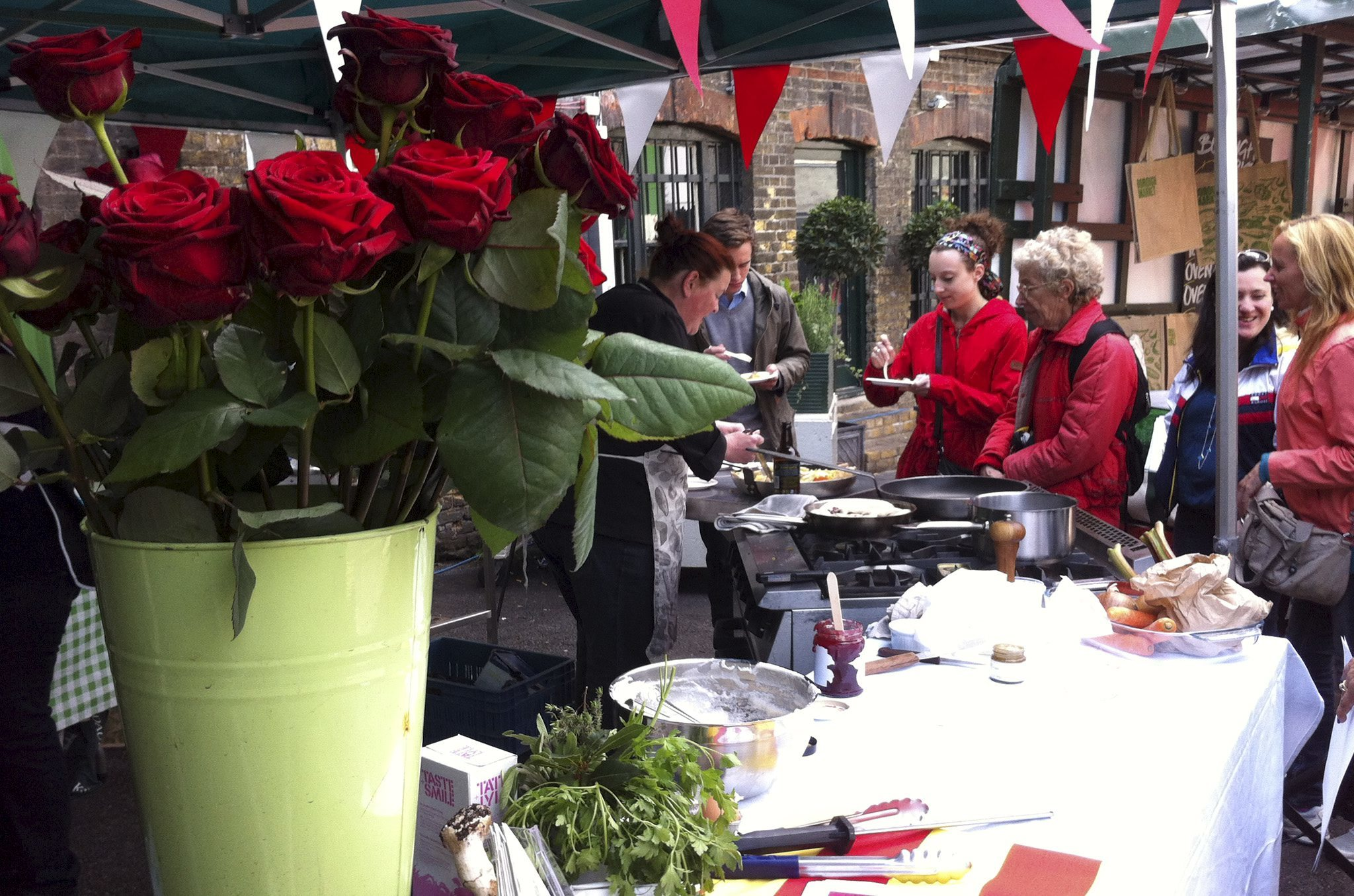 St George's Day at Borough Market