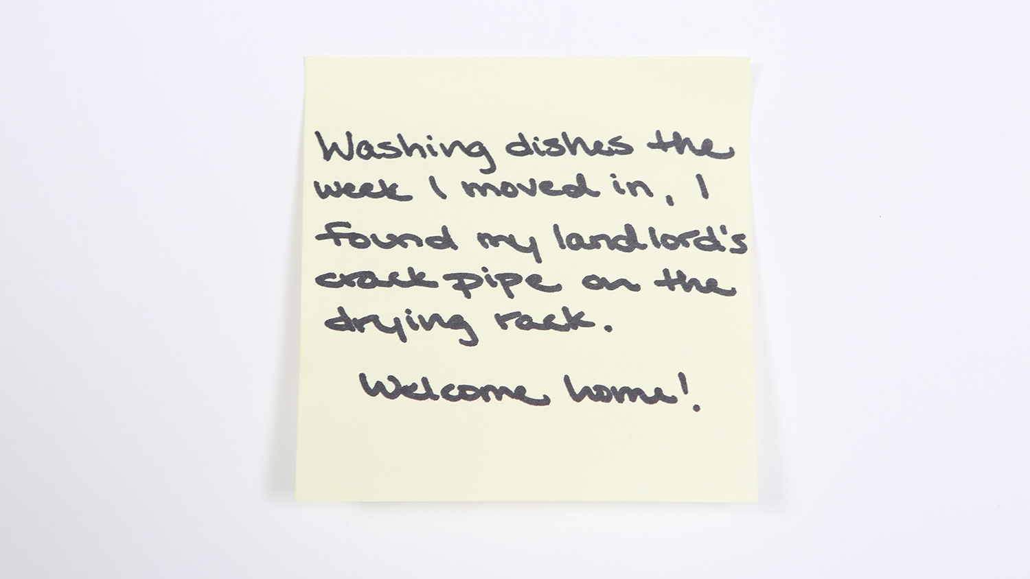 Sticky-note confessions: New Yorkers share their worst landlord horror stories