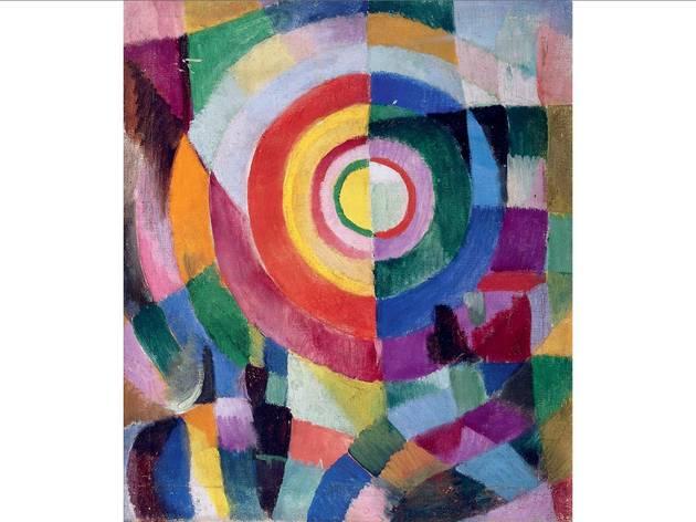 (Sonia Delaunay: 'Electric Prisms no 41', 1913-14. Centre National des Arts Plastiques, Paris, France © Pracusa 2014083)
