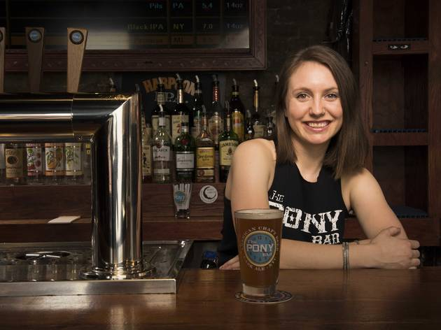 Clera Coyan, The Pony Bar, New York's Best Bartender 2015