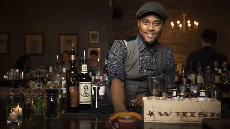 Derrick Turner, Harding's, New York's Best Bartender 2015