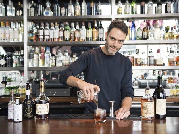 Miguel Govea, Jimmy at the James, New York's Best Bartender 2015
