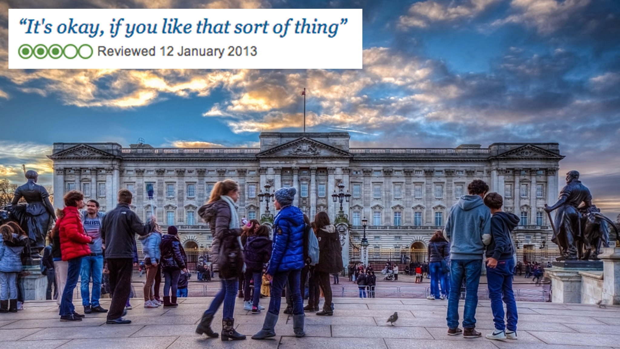 Buckingham Palace review