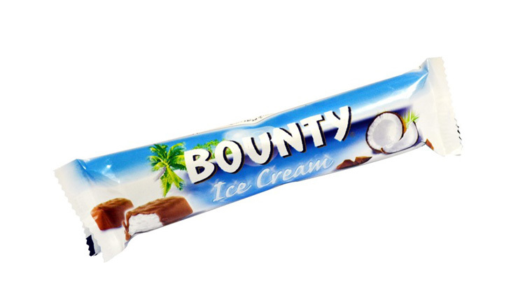 Bounty Ice Cream