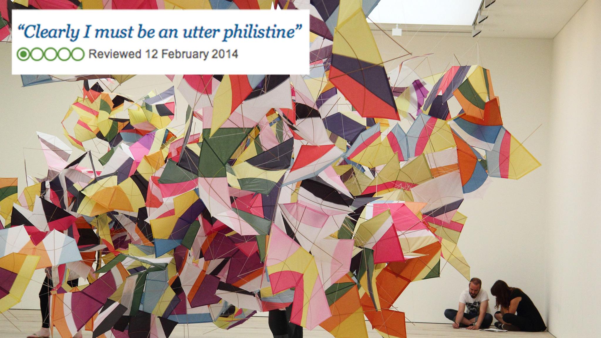 Saatchi Gallery TripAdvisor review