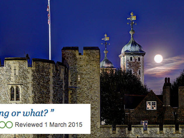 Tower of London TripAdvisor review