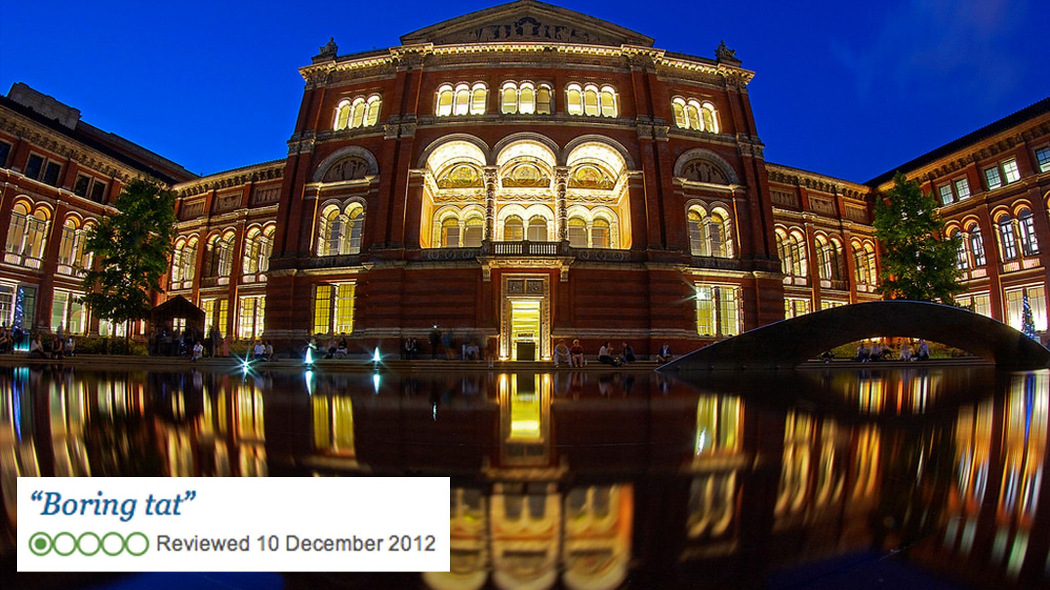 Victoria & Albert Museum TripAdvisor review