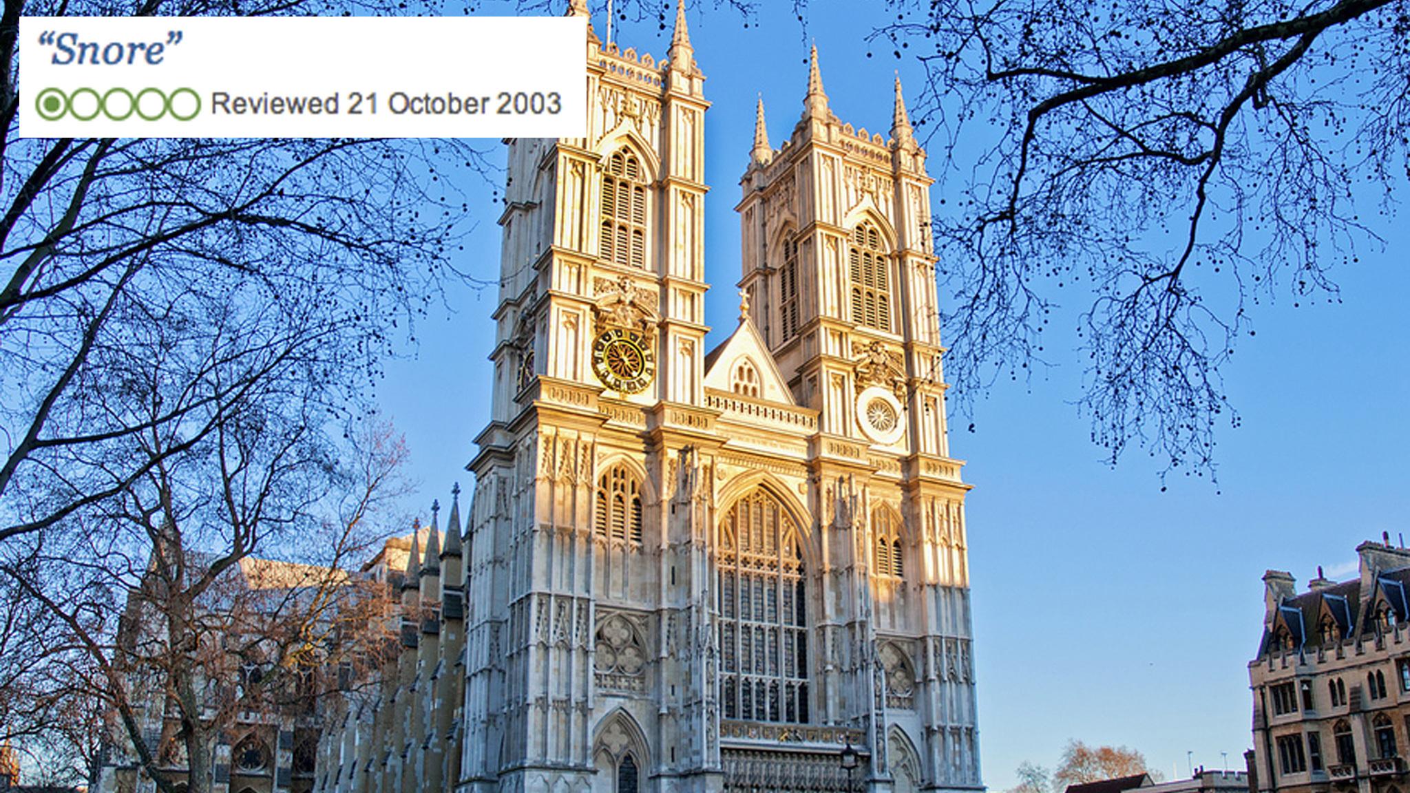 Westminster Abbey TripAdvisor review