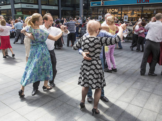 Spitalfields E1 Tea Dance