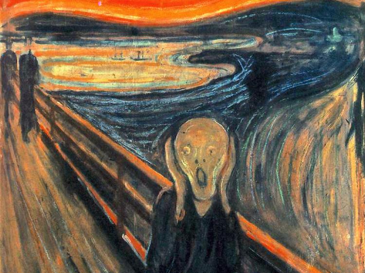 'Le Cri' d'Edvard Munch