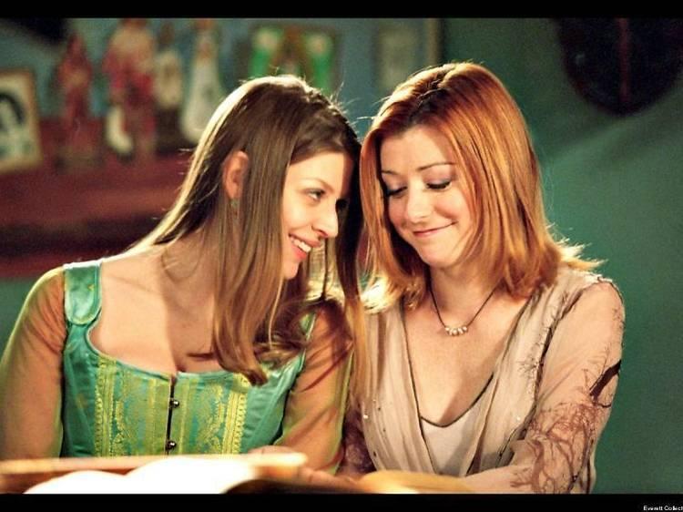 Willow et Tara • Buffy contre les vampires