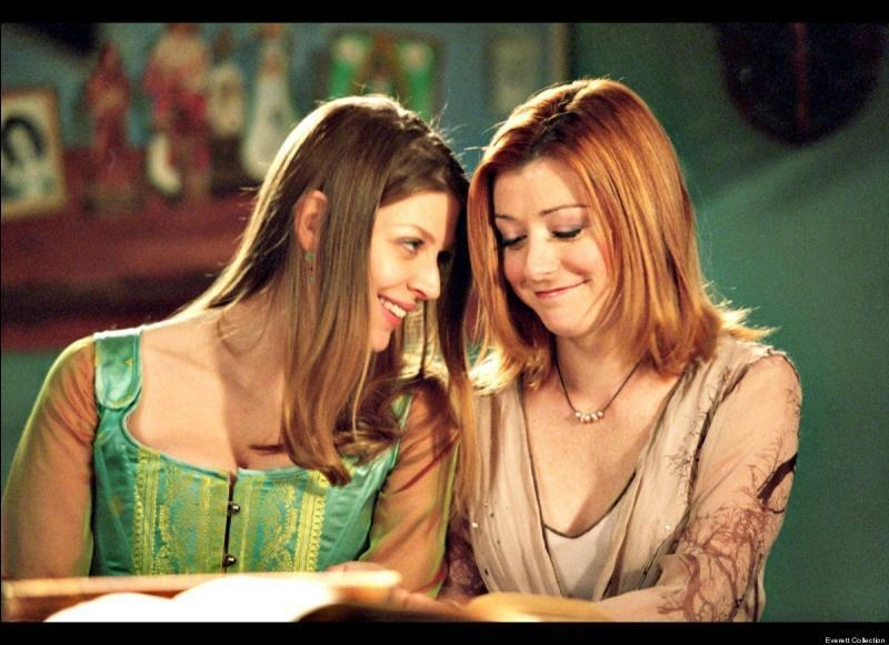 Willow et Tara • Buffy contre les vampires