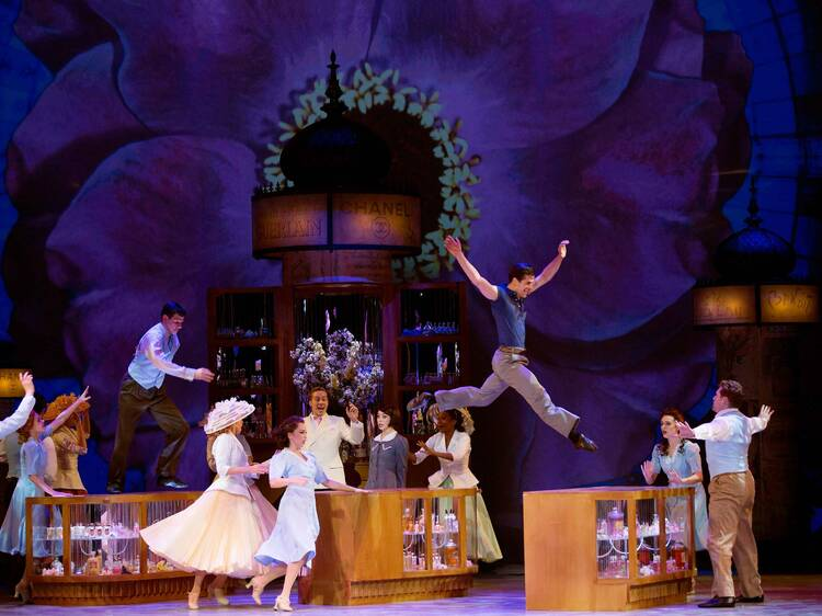 Best Scenic Design of a Musical