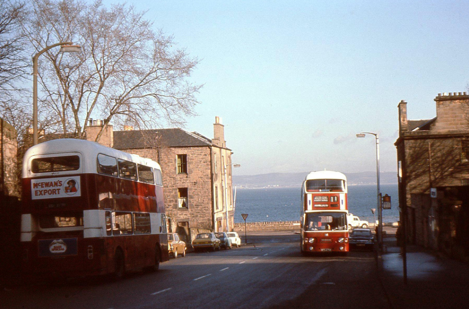 Craighall Road, Edinburgh '70s