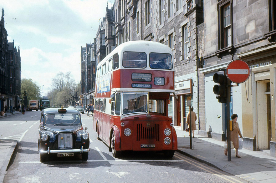Forrest Road, Edinburgh '70s