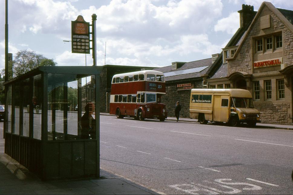 Canonmills, Edinburgh '70s