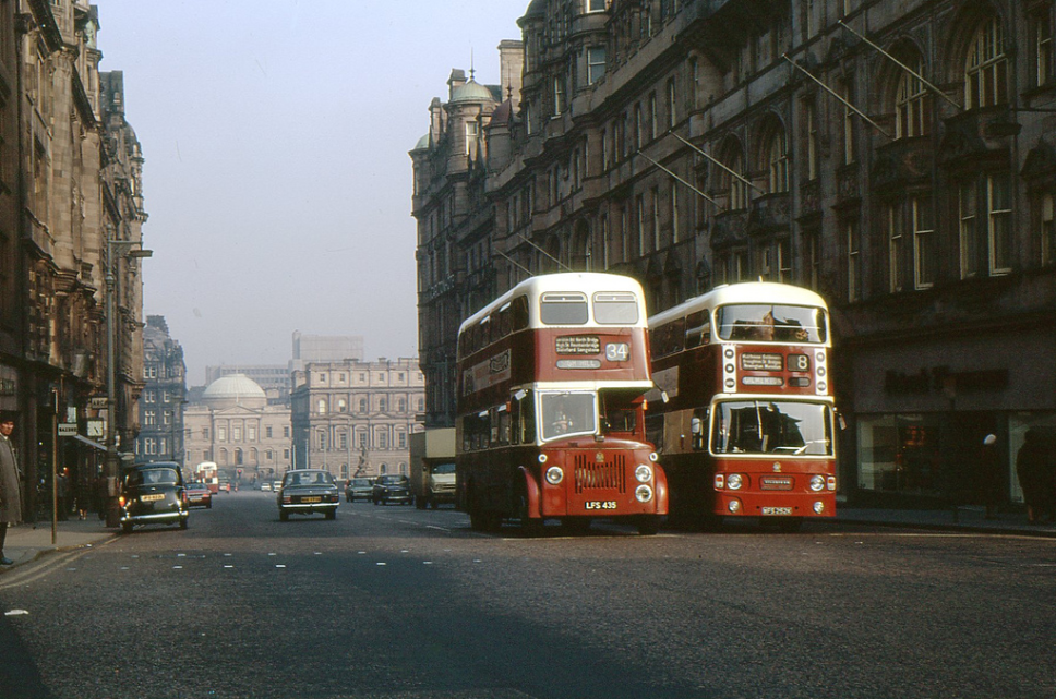 North Bridge, Edinburgh '70s