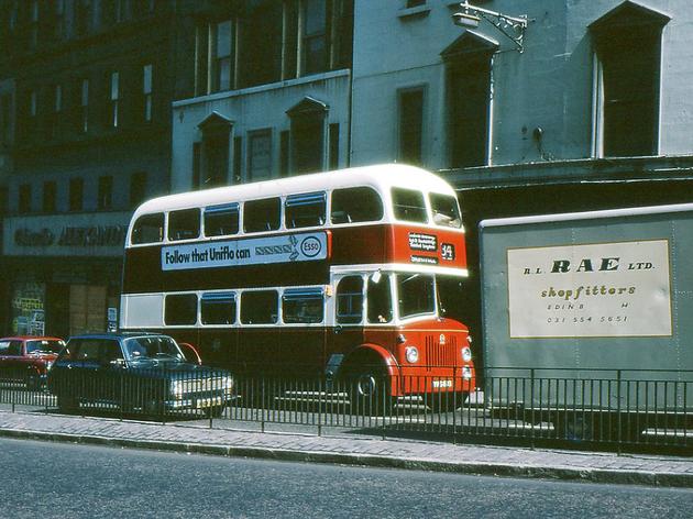 Leith Street, Edinburgh '70s