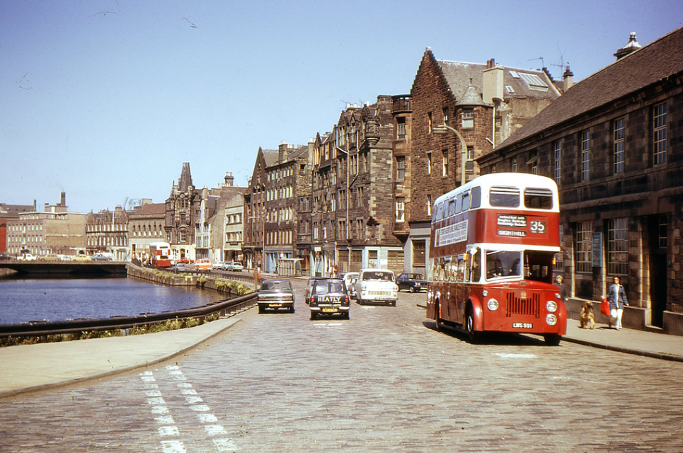 The Shore, Edinburgh '70s