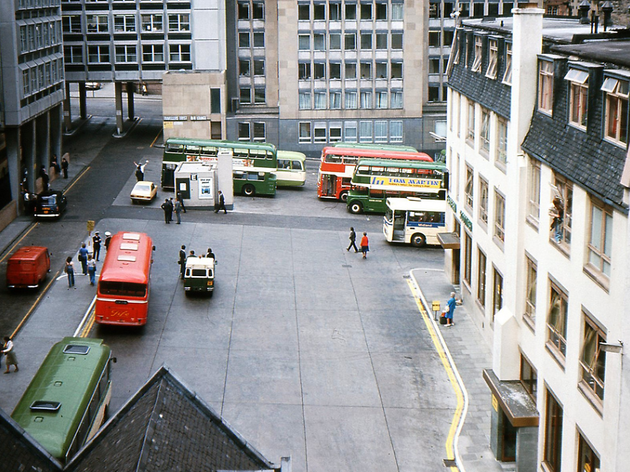 St. Andrews Square Bus Station, Edinburgh '70s