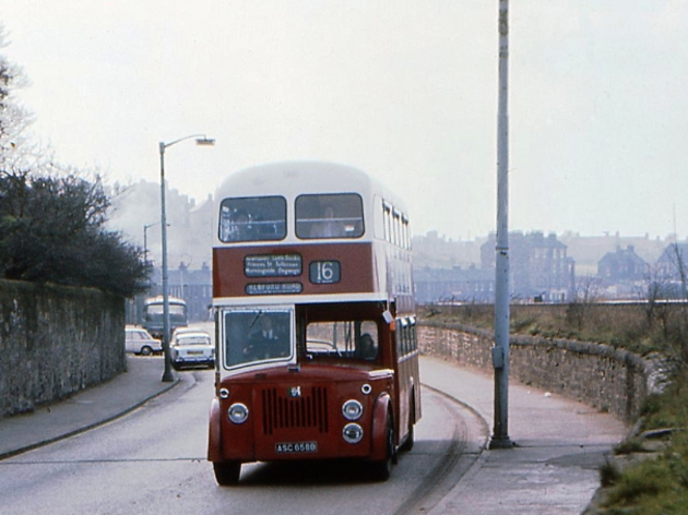 Lower Granton Road, Edinburgh '70s