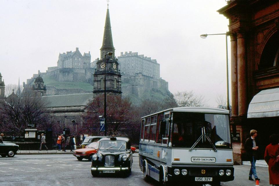 Caledonian Hotel, Edinburgh '70s
