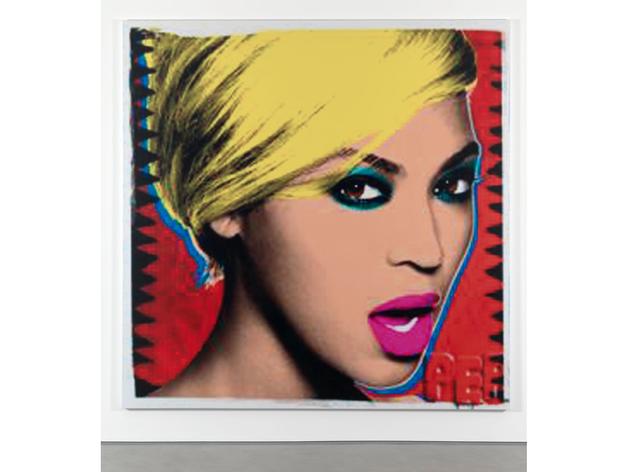 (Jonathan Horowitz: 'Beyoncé', 2015. © the artist, courtesy Sadie Coles HQ, London)