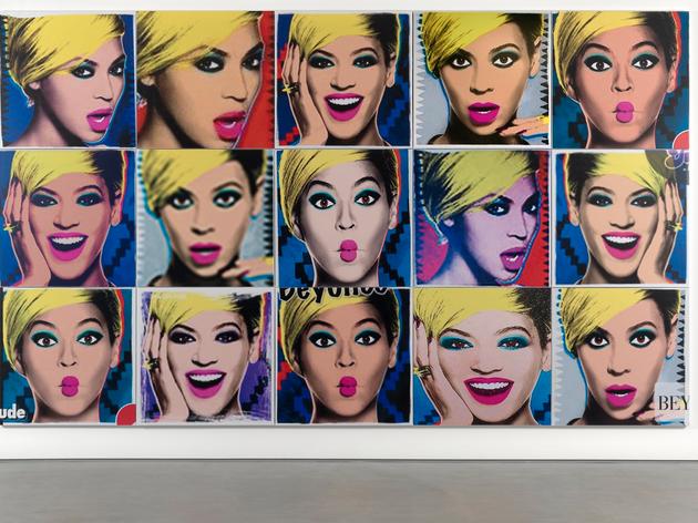 (Jonathan Horowitz: 'Beyoncé 3x5', 2015. © the artist, courtesy Sadie Coles HQ, London)