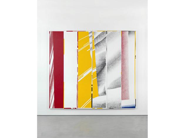"(Jonathan Horowitz: 'Group Self-portrait in ""Mirror #3 (Six Panels)"" (Li Huan, Jacob, Ian, Cathleen, Dom, Karin)', 2015. © the artist, courtesy Sadie Coles HQ, London)"